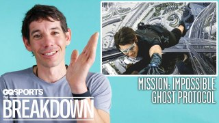 Alex Honnold Breaks Down Climbing Scenes From Movies & TV