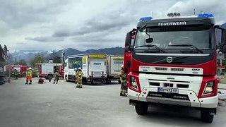 Funkenflug setzte Motorrad-Werkstatt in Kundl in Brand