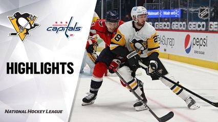 Penguins @ Capitals 4/29/21   NHL Highlights