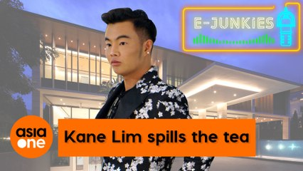 E-Junkies: Bling Empire's Kane Lim spills the tea