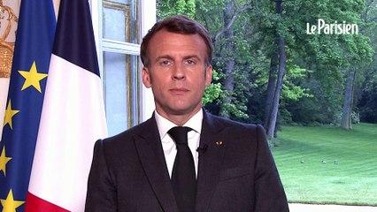 Emmanuel Macron demande aux Français « un esprit de résistance » face au virus