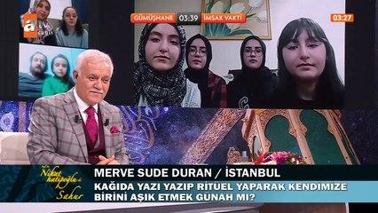 Prof. Dr. Nihat Hatipoğlu ile Sahur