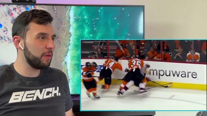 Basketball Fan Reacts To Nhl Biggest Hits Of All Time! *Players Flying And Total Knockouts!*