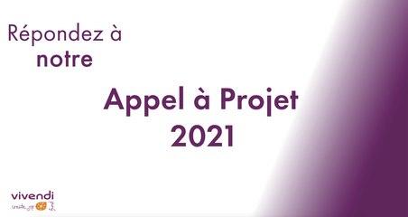 Appel à projet Vivendi Create Joy - 2021