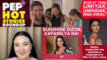Sunshine, Kapamilya na; Jean, Thea, Jolo, nag-viral; Rabiya umaarangkada!