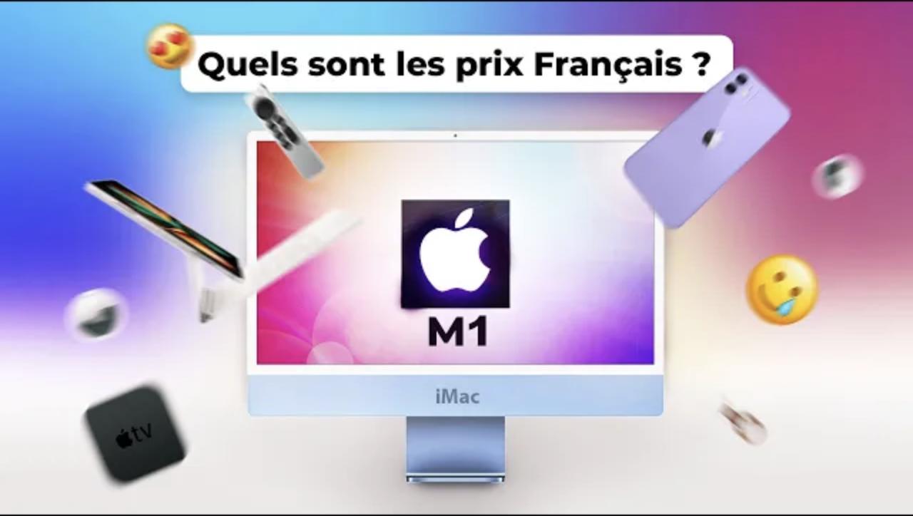 Nouveaux iMac & iPad : APPLE annonce 4 NOUVEAUX produits ! TOUT SAVOIR (Airtag, Apple TV 4K 2021)