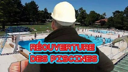 Déconfinement - Réouverture des piscines municipales