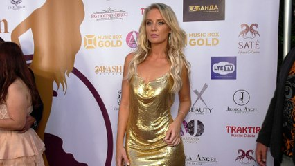 "Anya Shevchenko ""Mrs. Russian America 2021"" Red Carpet Fashion"