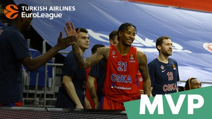 MVP of the Week: Will Clyburn, CSKA Moscow