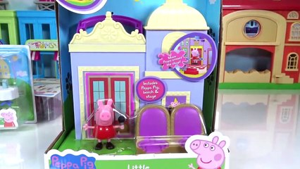 Peppa Pig Little Theater Places Carry Case Playset