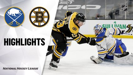 Sabres @ Bruins 5/1/21   NHL Highlights