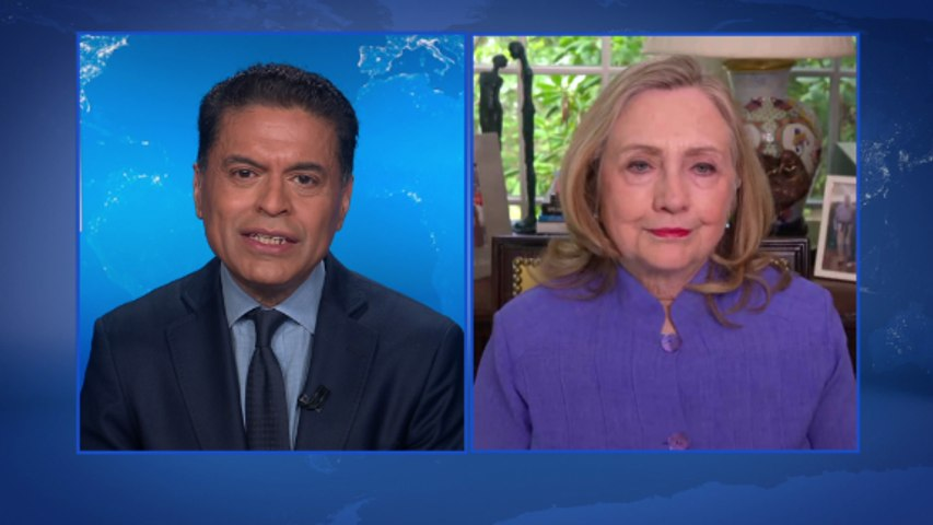 On GPS: Fmr. Sec. Clinton on a reset with Russia