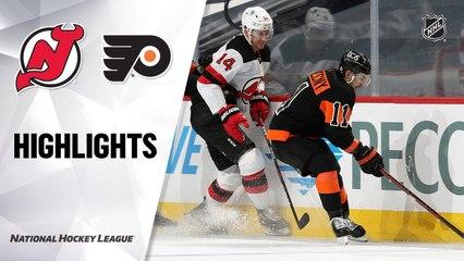 Devils @ Flyers 5/1/21   NHL Highlights