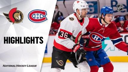 Senators @ Canadiens 5/1/21   NHL Highlights