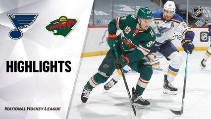 Blues @ Wild 5/1/21   NHL Highlights
