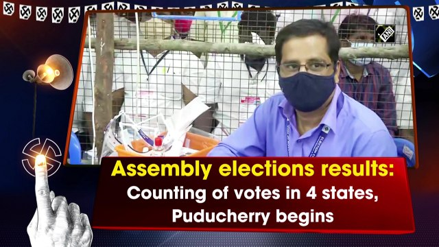 Assembly Elections results: Counting of votes in 4 states, Puducherry begins