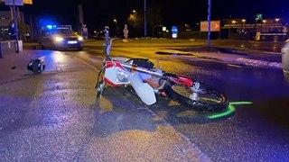 18-Jähriger verlor in Vomp Kontrolle über Motorrad: Sozius schwer verletzt