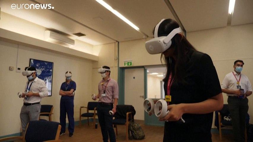 شاهد: الواقع الافتراضي لتدريب طلبة الطب في غرف العناية المركزة في بريطانيا