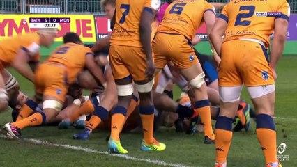Résumé de la demi-finale : Bath Rugby - Montpellier