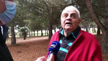 ''Je mettrai fin à mes jours si je suis expulsé'' dit Jean-Claude propriétaire d'une pinède d'un millier d'arbres
