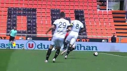 Le résumé de la rencontre FC Lorient - Angers SCO (2-0) 20-21
