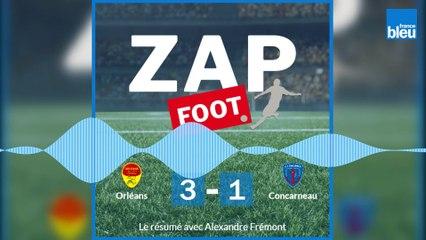 Revivez les buts et la victoire de l'US Orléans face à Concarneau (3-1) pour la 33e journée.