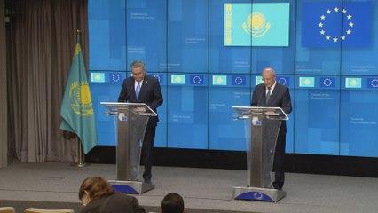 EU, Kazakhstan welcome progress in bilateral cooperation