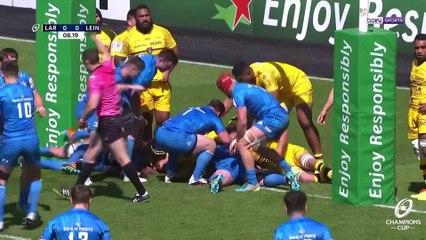 Résumé  de la demi-finale : La Rochelle - Leinster Rugby