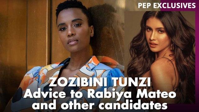 Miss Universe 2019 Zozibini Tunzi gives valuable advice to Rabiya Mateo and other candidates