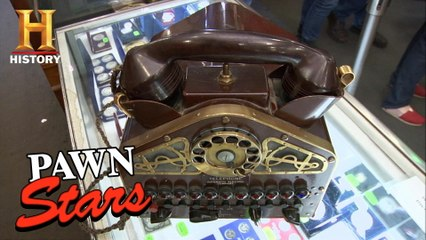 Pawn Stars: Old Man's TOUGH NEGOTIATION for a HISTORIC Navy Phone