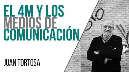 El 4M y los medios de comunicación - Entrevista a Juan Tortosa - En la Frontera, 3 de mayo de 2021