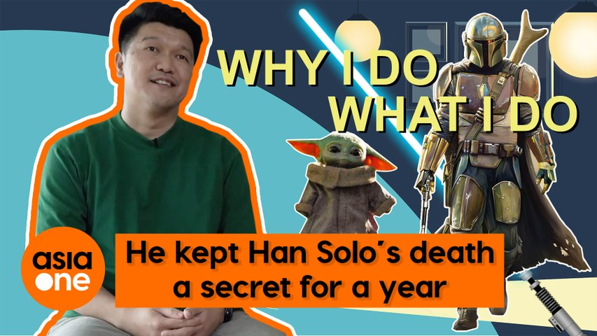 Why I Do What I Do: He kept Han Solo's death a secret for a year