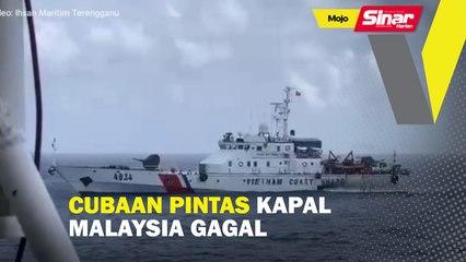 Cubaan pintas kapal Malaysia gagal
