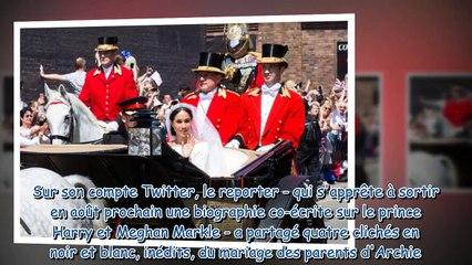 Mariage de Meghan Markle et du prince Harry - des photos inédites dévoilées pour les deux ans d'anni