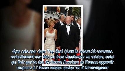 Philippe Etchebest - ému aux larmes, il fait de nouvelles confidences sur son fils adoptif Oscar-Lou