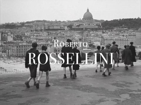 RETROSPECTIVE ROSSELLINI - UNE VIE DE CINÉMAS