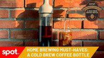 Home Brewing Must-Haves: A Cold Brew Coffee Bottle