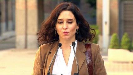 """Isabel Díaz Ayuso: """"Hoy elegimos el modelo de país que queremos"""""""
