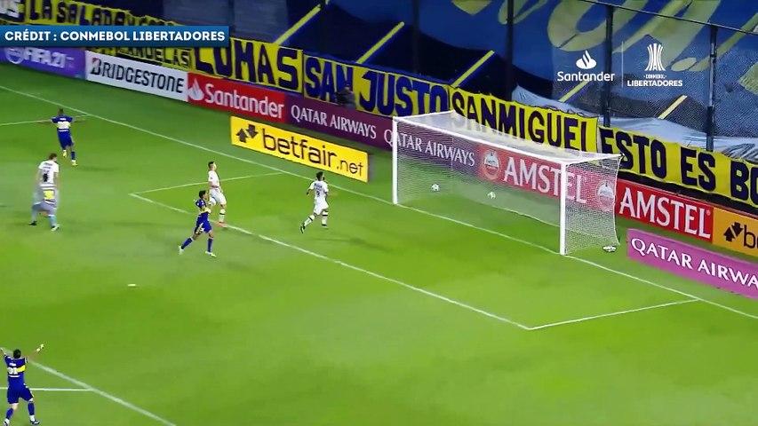 Sebastián Villa décisif avec  Boca Juniors en Copa Libertadores