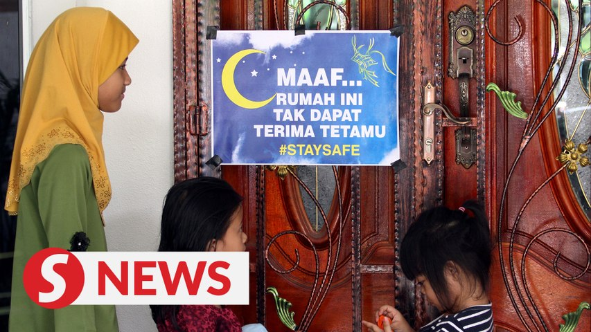 Raya SOP: No open houses, 15-person limit for house visits in MCO areas
