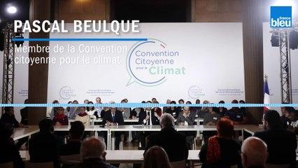 Pascal Beulque de la Convention citoyenne critique la loi Climat