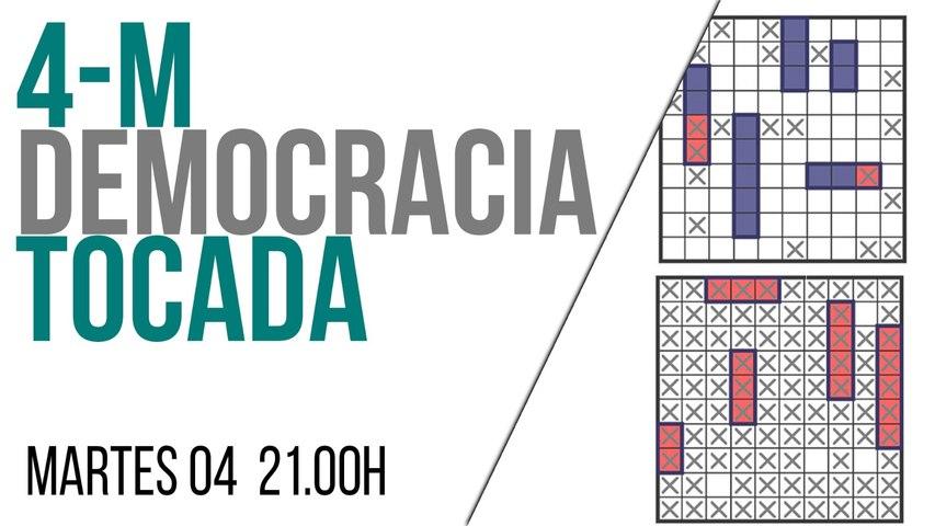 Juan Carlos Monedero: 4-M, democracia tocada - En la Frontera, 4 de mayo de 2021