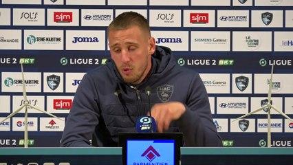 Après HAC - Toulouse (0-1), réactions de Pierre Gibaud