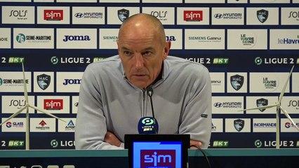 Après HAC - Toulouse (0-1), réactions de Paul Le Guen