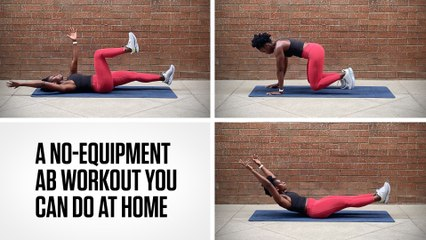 A No-Equipment Ab Workout You Can Do At Home
