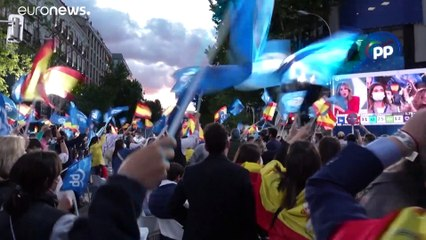 اليمين يفوز في مدريد والاشتراكي سانشيز يتعرض لهزيمة كبرى