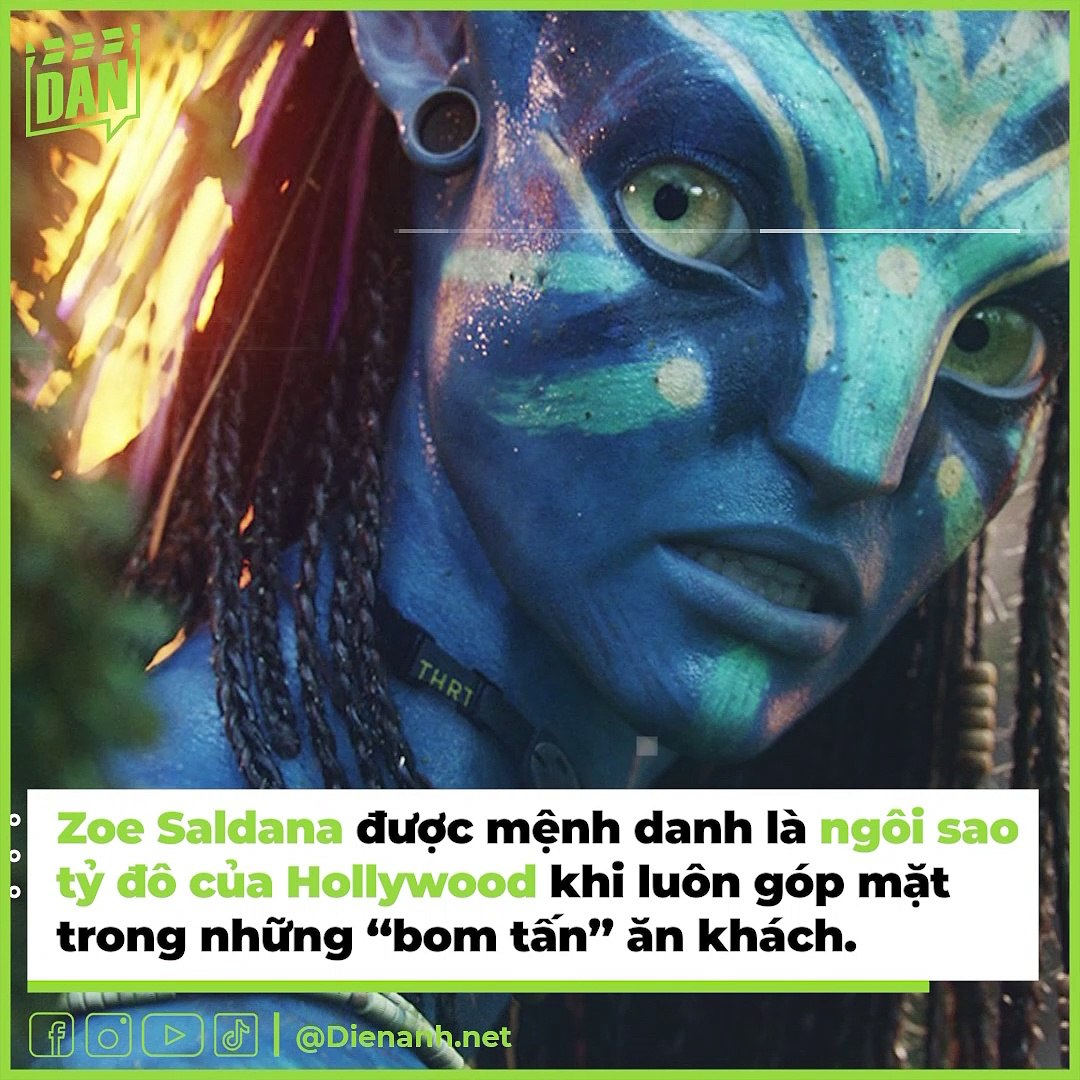 Zoe Saldana cùng dàn diễn viên Avatar có sự nghiệp như thế nào?   Điện Ảnh Net