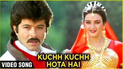 Kuchh Kuchh Hota Hai Video Song   Anil Kapoor, Farah Naaz   Rakhwala Songs   Hindi Romantic Songs