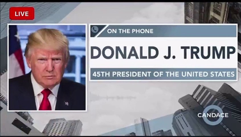 Candace Owens - Full interview with Donald J. Trump!