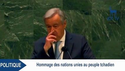 Le président DEBY a été un partenaire essentiel des Nations Unies dans la lutte contre le terrorisme